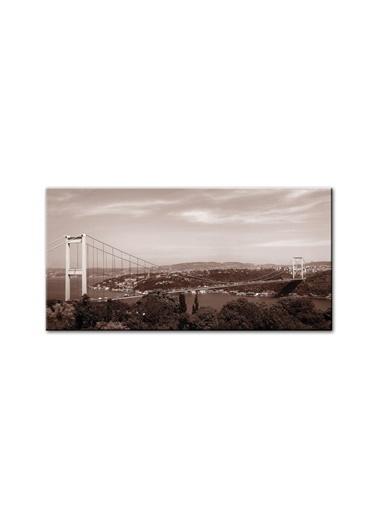 Arte Casero İstanbul Kanvas Tablo 60x120 cm  Renkli